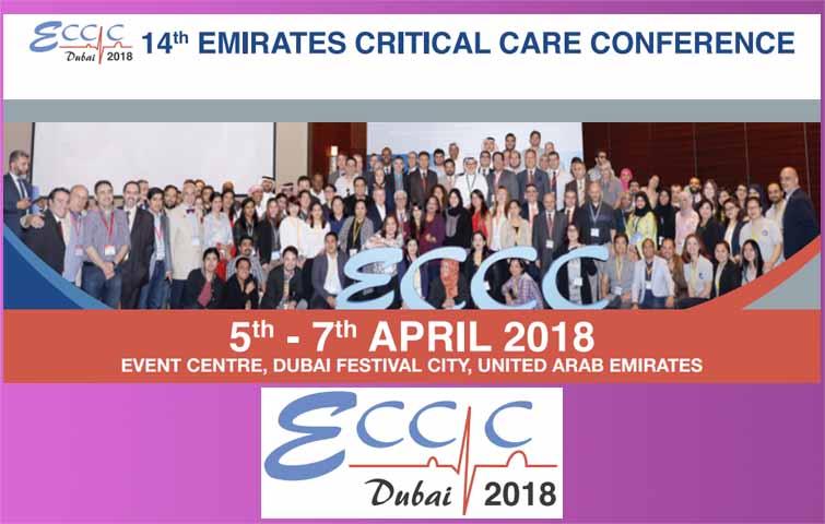 14th Emirates Critical Care Conference 2018 at Dubai UAE